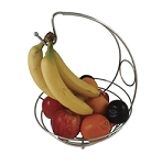 Chrome Wire Baskets w/Hanging Hook